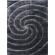 Paklājs Softy 3D 2243 Black B 90€ Softy 3D kolekcija  BCC SIA